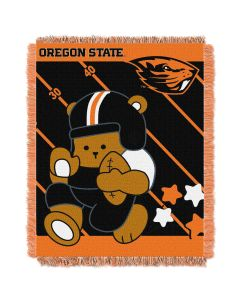 The Northwest Company Oregon State  College Baby 36x46 Triple Woven Jacquard Throw - Fullback Series