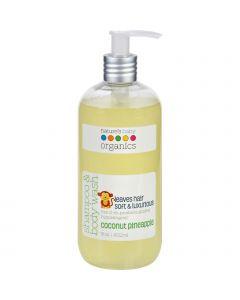 Nature's Baby Organics Natures Baby Organics Shampoo and Body Wash - Coconut Pienapple - 16 oz