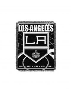 "The Northwest Company LA Kings 48""x 60"" Triple Woven Jacquard Throw (NHL) - LA Kings 48""x 60"" Triple Woven Jacquard Throw (NHL)"