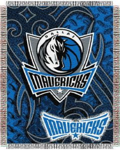 "The Northwest Company Mavericks 48""x60"" Triple Woven Jacquard Throw (NBA) - Mavericks 48""x60"" Triple Woven Jacquard Throw (NBA)"