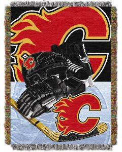 """The Northwest Company Flames  """"Home Ice Advantage"""" 48x60 Tapestry Throw"""
