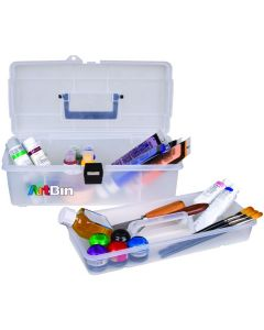 "ArtBin Lift-Out Tray Box-14""X7""X5"" Clear"