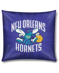 """The Northwest Company Hornets 18""""x18"""" Cotton Duck Toss Pillow (NBA) - Hornets 18""""x18"""" Cotton Duck Toss Pillow (NBA)"""