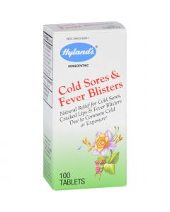 Hyland's Hylands Homeopathic Cold Sores and Fever Blisters - 100 Tablets