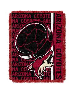 The Northwest Company Coyotes  48x60 Triple Woven Jacquard Throw - Double Play Series