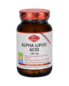 Olympian Labs Alpha Lipoic Acid - 100 mg - 60 Vegetarian Capsules