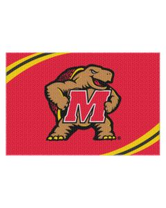 The Northwest Company Maryland College 20x30 Acrylic Tufted Rug
