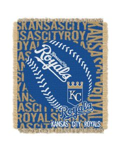 The Northwest Company Royals  48x60 Triple Woven Jacquard Throw - Double Play Series