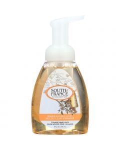 South Of France Hand Soap - Foaming - Orange Blossom Honey - 8 oz - 1 each