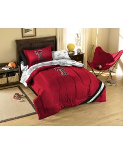 The Northwest Company Texas Tech Twin Bed in a Bag Set (College) - Texas Tech Twin Bed in a Bag Set (College)