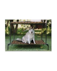 """Puppywalk Breezy Bed Outdoor Dog Bed Royale 48"""" x 39"""" x 39"""""""