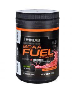 Twinlab BCAA Fuel - Fruit Punch - Powder - 8.25 oz