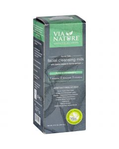 Via Nature Facial Cleansing Milk - Gentle Daily - 6 oz