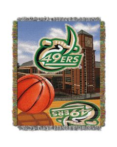 """The Northwest Company UNC Charlotte College """"Home Field Advantage"""" 48x60 Tapestry Throw"""