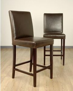 Warehouse of Tiffany Shino Brown Barstools (Set of 2)