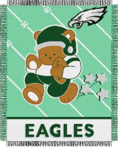 "The Northwest Company Eagles baby 36""x 46"" Triple Woven Jacquard Throw (NFL) - Eagles baby 36""x 46"" Triple Woven Jacquard Throw (NFL)"