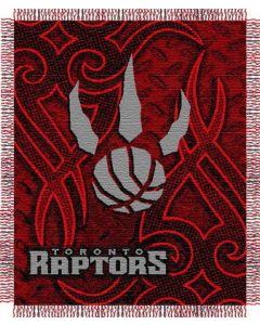 "The Northwest Company Raptors 48""x60"" Triple Woven Jacquard Throw (NBA) - Raptors 48""x60"" Triple Woven Jacquard Throw (NBA)"