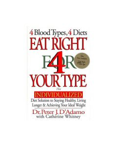 Books - All Publisher Titles Eat Right For Your Type