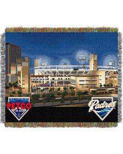 "The Northwest Company Petco Park  ""Stadium"" 48x60 Tapestry Throw"