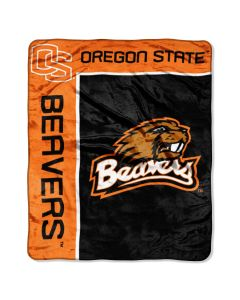 "The Northwest Company Oregon State ""School Spirit"" 50""x60"" Raschel Throw (College) - Oregon State ""School Spirit"" 50""x60"" Raschel Throw (College)"