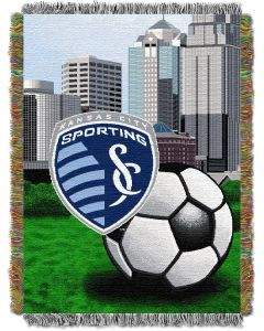 """The Northwest Company KC Sporting  48""""x60"""" Tapestry Throw"""