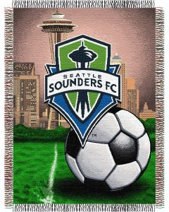 "The Northwest Company Seattle Sounders 48""x60"" Tapestry Throw"