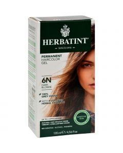 Herbatint Permanent Herbal Haircolour Gel 6N Dark Blonde - 135 ml