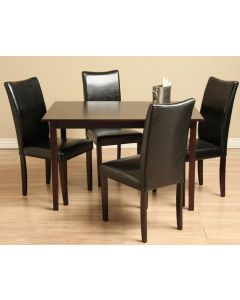 Warehouse of Tiffany Shino Black 5-piece Dining Room Furniture Set