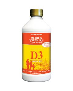 Buried Treasure Liquid D3 w/K2 - Buried Treasure Liquid D3 w/K3