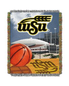 """The Northwest Company Wichita State College """"Home Field Advantage"""" 48x60 Tapestry Throw"""