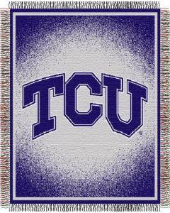"The Northwest Company TCU ""Focus"" 48""x60"" Triple Woven Jacquard Throw (College) - TCU ""Focus"" 48""x60"" Triple Woven Jacquard Throw (College)"