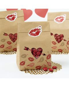 Wilton Paper Bag Kit Makes 6-Kraft
