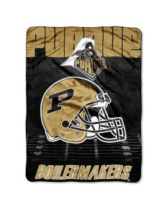 "The Northwest Company Purdue College ""Overtime"" 60x80 Micro Raschel Throw"