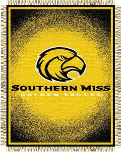 "The Northwest Company Southern Miss ""Focus"" 48""x60"" Triple Woven Jacquard Throw (College) - Southern Miss ""Focus"" 48""x60"" Triple Woven Jacquard Throw (College)"