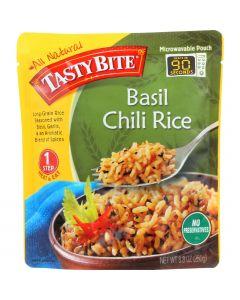 Tasty Bite Rice - Basil Chili - 8.8 oz - case of 6
