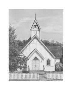 "Royal Brush Sketching Made Easy Kit 9""X12""-Chapel"
