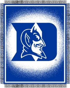 "The Northwest Company Duke ""Focus"" 48""x60"" Triple Woven Jacquard Throw (College) - Duke ""Focus"" 48""x60"" Triple Woven Jacquard Throw (College)"