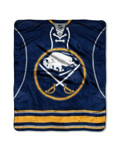 The Northwest Company Sabres  50x60 Super Plush Throw - Jersey Series