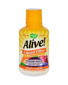 Nature's Way Natures Way Fiber - Alive - Liquid - Citrus - 16 oz