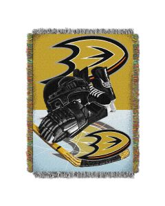"""The Northwest Company Devils  """"Home Ice Advantage"""" 48x60 Tapestry Throw"""