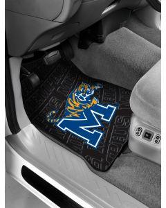 The Northwest Company Memphis College Car Floor Mats (Set of 2) - Memphis College Car Floor Mats (Set of 2)