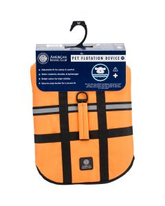Bh Pet Gear AKC Flotation Vest-Orange Extra Small