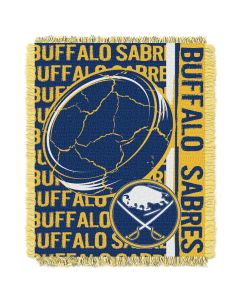 The Northwest Company Sabres  48x60 Triple Woven Jacquard Throw - Double Play Series