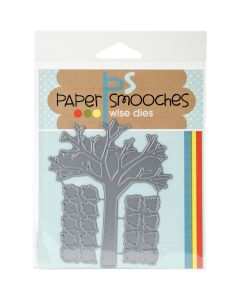 NEW! Paper Smooches Die-Fall Tree