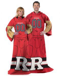 "The Northwest Company Rutgers College ""Uniform"" Adult Fleece Comfy Throw"