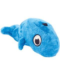 Worldwise Hear Doggy Plush Toy Large-Whale