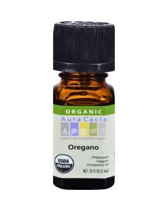 Aura Cacia Organic Oregano - .25 oz