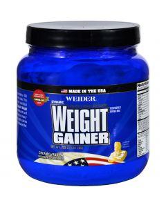Weider Global Nutrition Weight Gainer - Dynamic - Powder - Vanilla - 1.65 lb