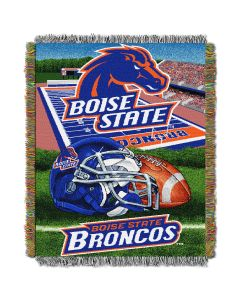 """The Northwest Company Boise State College """"Home Field Advantage"""" 48x60 Tapestry Throw"""