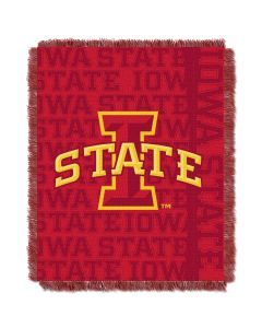 The Northwest Company Iowa State College 48x60 Triple Woven Jacquard Throw - Double Play Series